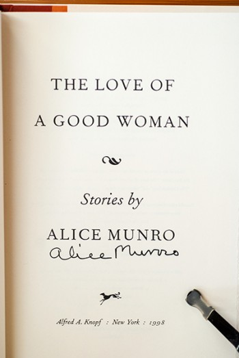 Image for The Love Of A Good Woman (Signed 1st Printing)