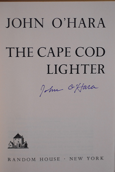Image for The Cape Cod Lighter (Signed 1st Printing)