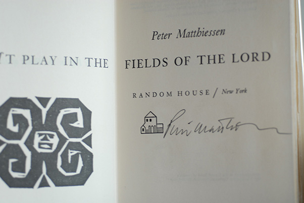 Image for At Play In The Fields Of The Lord (Signed 1st Printing)