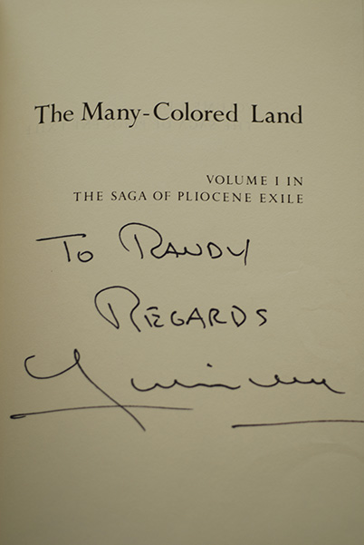 Image for The Many-Colored Land (Signed & Inscribed)