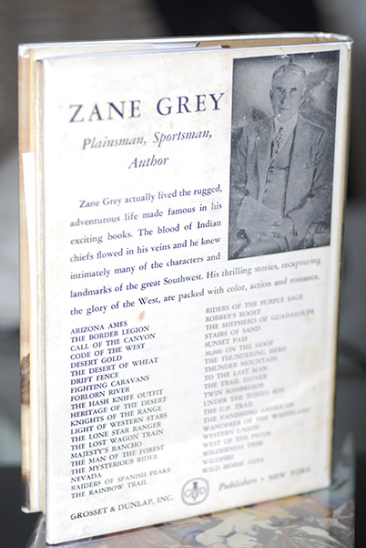 Image for Zane Grey-Man Of The West-A Biography (Signed by Romer Grey)