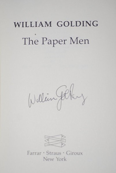 Image for The Paper Men (Signed 1st Printing)