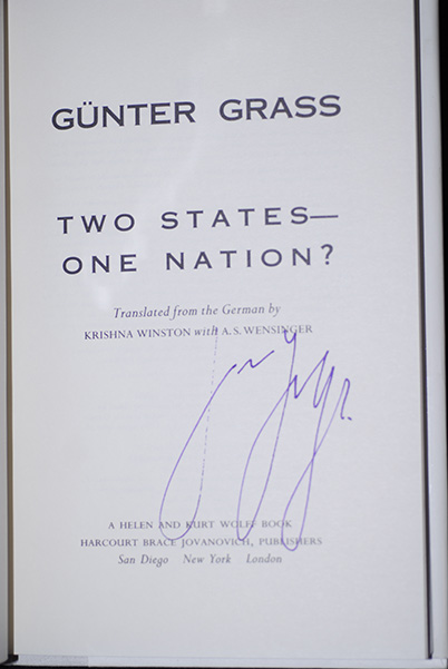 Image for Two States-One Nation? (Signed 1st Printing)