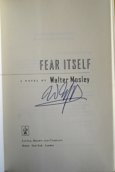 Image for Fear Itself: A Fearless Jones Novel (Signed 1st Printing)