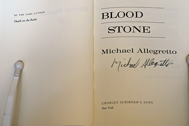 Image for Blood Stone: A Jacob Lomax Mystery (Signed 1st Printing)