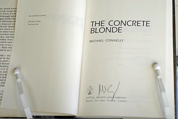 Image for The Concrete Blonde (Signed 1st Printing)