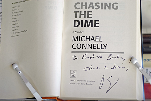 Image for Chasing The Dime (Signed& Inscribed 1st Printing)