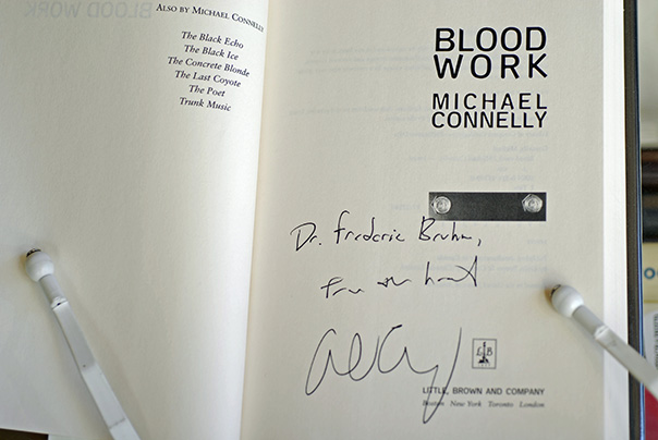 Image for Blood Work (Signed & Inscribed 1st Printing)