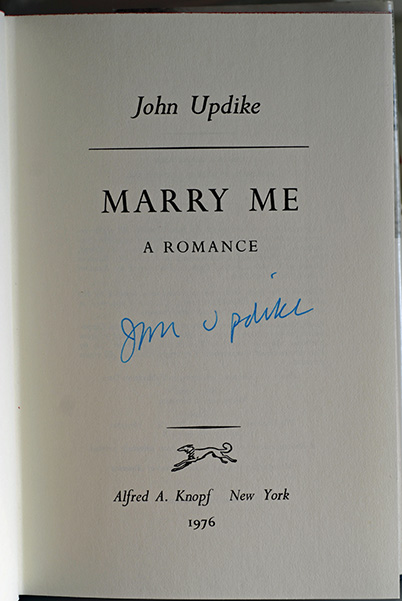 Image for Marry Me (Signed First Printing)