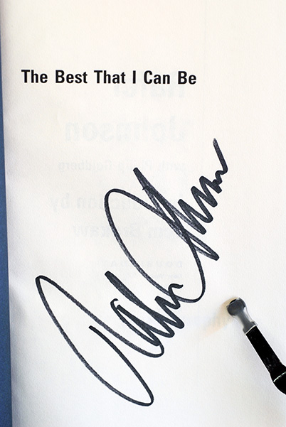 Image for The Best That I Can Be (Signed by Johnson)