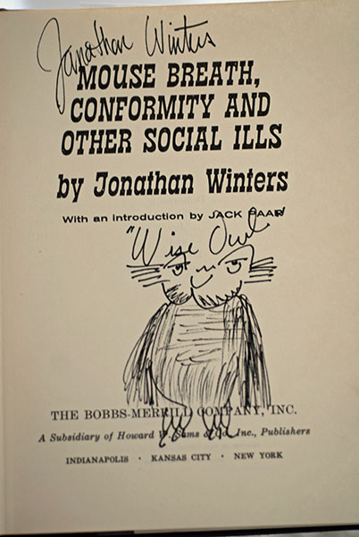 Image for Mouse Breath, Conformity And Other Social Ills (Signed 1st Printing with Self-Caricature)