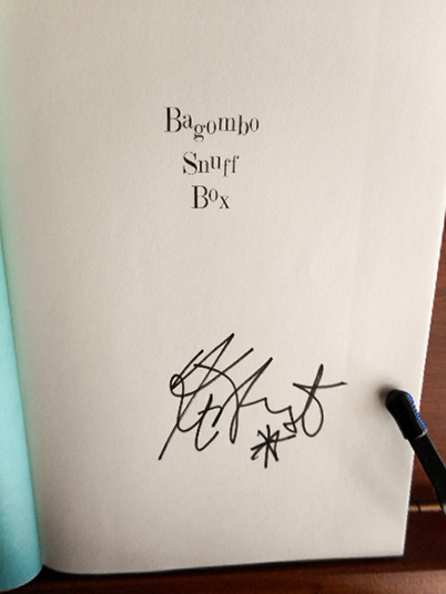 Image for Bagombo Snuff Box (Uncollected Short Fiction) Twice Signed With Self-Caricature