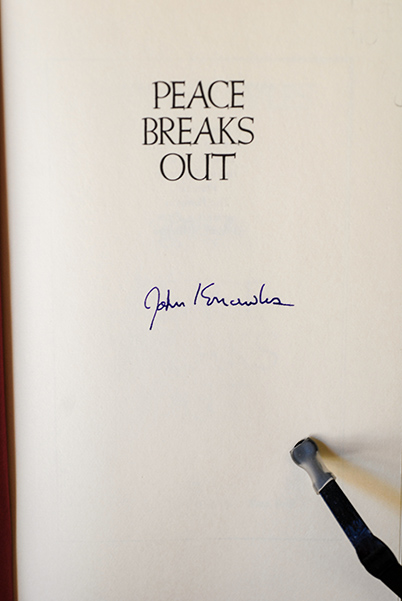 Image for Peace Breaks Out (Signed 1st Printing)