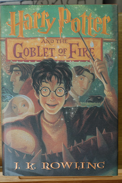 Image for Harry Potter and the Goblet of Fire (Signed 1st Printing)
