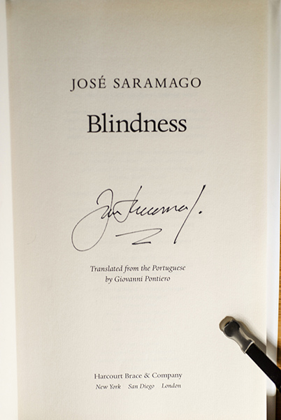 Image for Blindness (Signed 1st Printing)