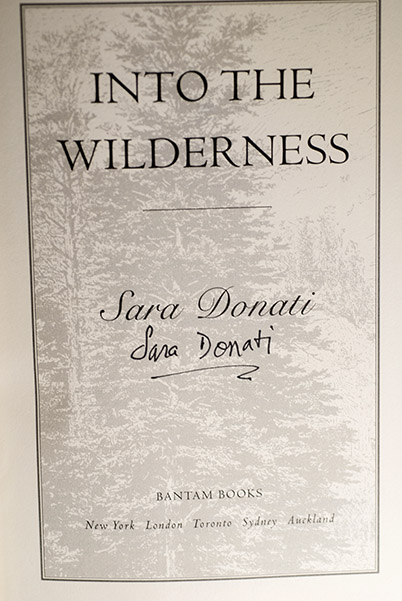 Image for Into The Wilderness (Signed 1st Printing)