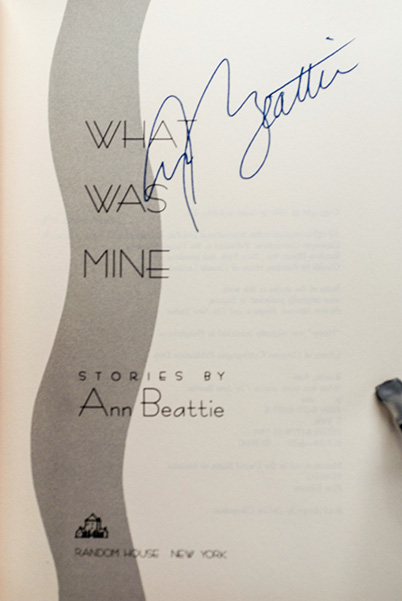 Image for What Was Mine (Signed 1st Printing)