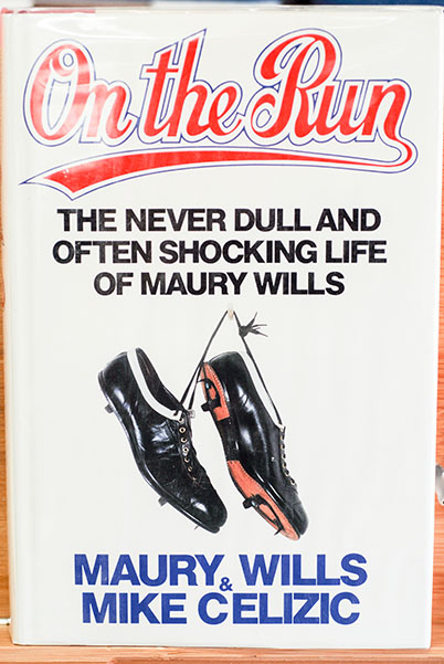 Image for On The Run: The Never Dull and Often Shocking Life Of Maury Wills (Signed)