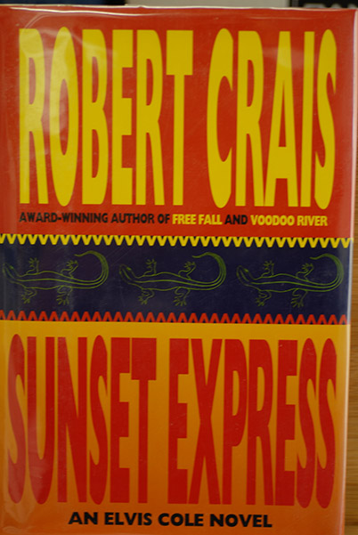 Image for Sunset Express: An Elvis Cole Novel (Signed & Inscribed)