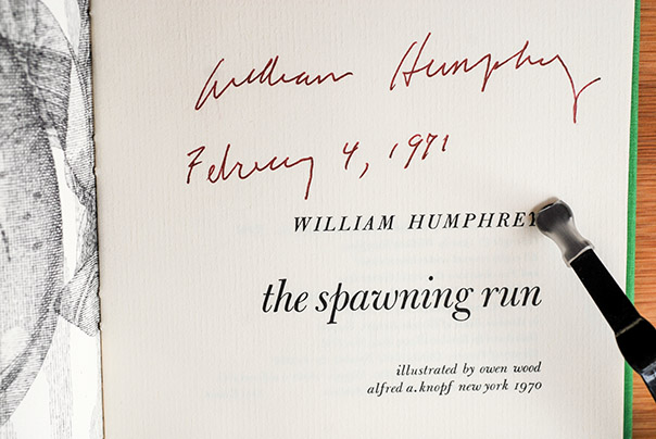 Image for The Spawning Run (Signed 1st Printing)