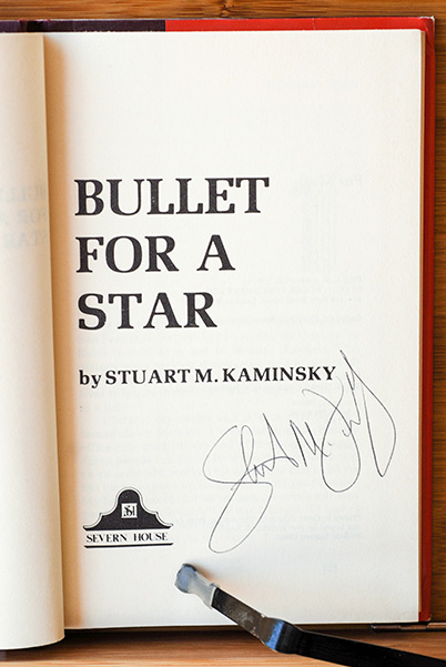 Image for Bullet For A Star (A Toby Peters Mystery) (Signed)