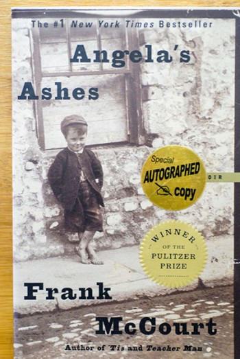 Image for Angela's Ashes: A Memoir (Signed)