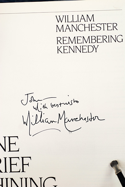 Image for One Brief Shining Moment: Remembering Kennedy (Signed-Inscribed)