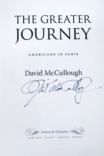 Image for The Greater Journey (Signed 1st Printing)