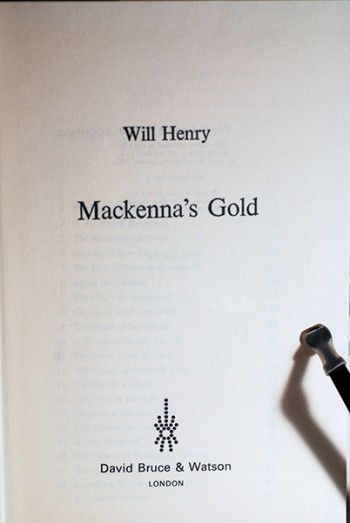Image for MacKenna's Gold (Author's Sample Copy--Signed & Dated)