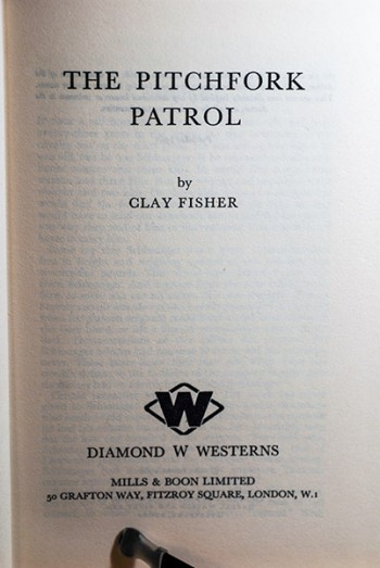 Image for The Pitchfork Patrol (Personal Copy of the Author--Signed & Dated)