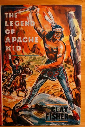 Image for The Legend Of Apache Kid (Personal Copy of the Author--Signed & Dated)