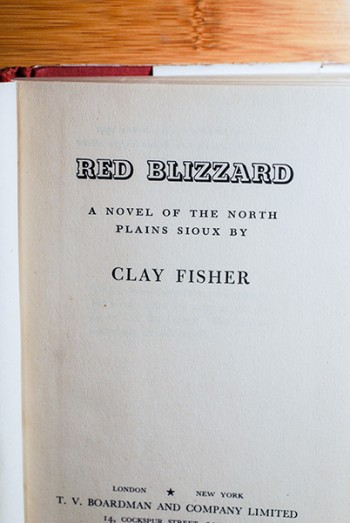 Image for Red Blizzard (Personal Copy of the Author--Signed & Dated)