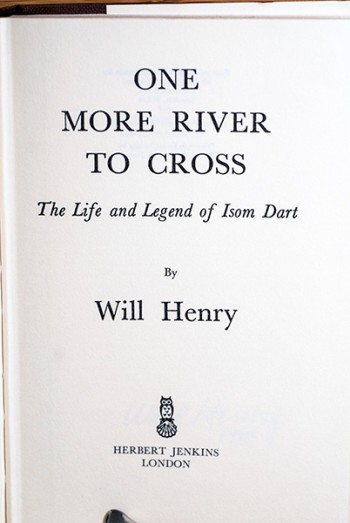 Image for One More River To Cross (Author's Personal Copy--Signed & Dated)