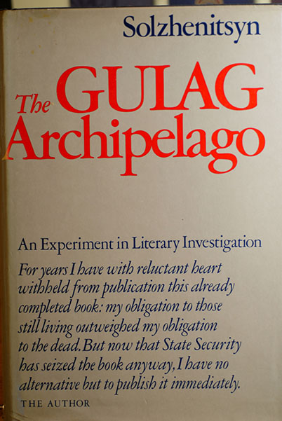 Image for The Gulag Archipelago, 1918-1956 (An Experiment In Literary Investigation) Signed