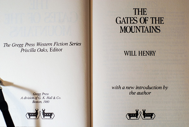 Image for The Gates Of The Mountains (Author's Personal Copy--Signed)