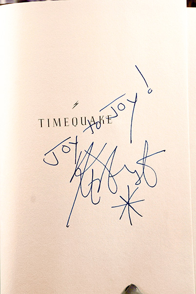 Image for Timequake (Signed & Inscribed 1st Printing)